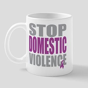 Stop Domestic Violence Mug