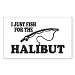 Halibut Sticker