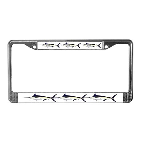Black Marlin V2 License Plate Frame By