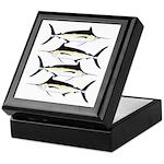 Black Marlin v2 Keepsake Box