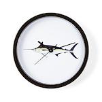 Black Marlin v2 Wall Clock
