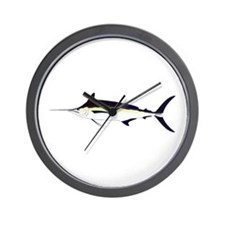 Black Marlin v2 Wall Clock
