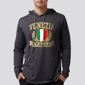 Venezia Italia Mens Hooded Shirt