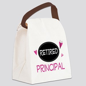 Retired Principal Canvas Lunch Bag