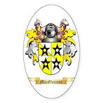 MacGlennon Sticker (Oval 10 pk)