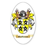 MacGlennon Sticker (Oval 50 pk)