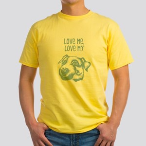 Parson Russell Terrier Yellow T-Shirt