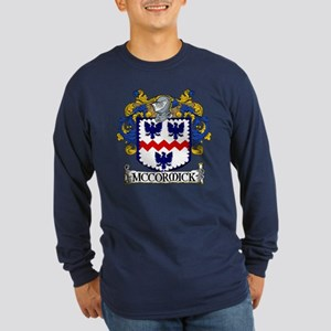 McCormick Coat of Arms Long Sleeve Dark T-Shirt