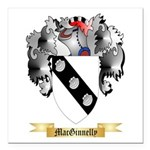 MacGinnelly Square Car Magnet 3