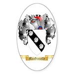 MacGinnelly Sticker (Oval 10 pk)