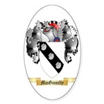 MacGinnelly Sticker (Oval 50 pk)