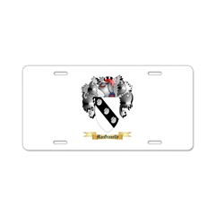 MacGinnelly Aluminum License Plate