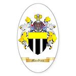 MacGinn Sticker (Oval 50 pk)