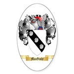 MacGinly Sticker (Oval 10 pk)
