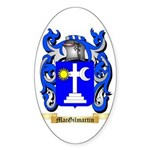 MacGilmartin Sticker (Oval 50 pk)