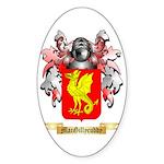 MacGillycuddy Sticker (Oval)