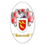 MacGill Sticker (Oval 10 pk)