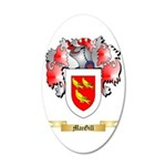 MacGill 35x21 Oval Wall Decal
