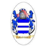 MacGilfoyle Sticker (Oval 50 pk)