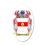 MacGettrick 35x21 Oval Wall Decal