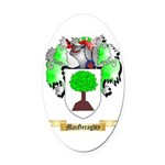 MacGeraghty Oval Car Magnet