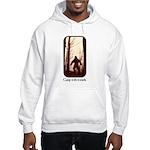 Camp with Bigfoot Hooded Sweatshirt