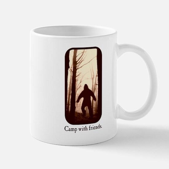 Camp with Bigfoot Mug