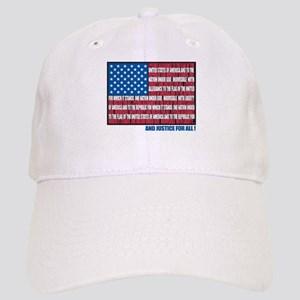 Flag Pledge of Allegiance Cap