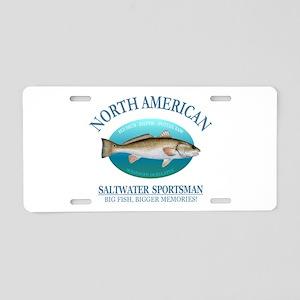 NASM (redfish) Aluminum License Plate