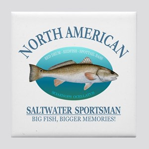 NASM (redfish) Tile Coaster