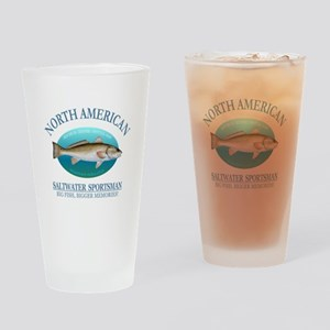 NASM (redfish) Drinking Glass