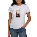 Camp with Bigfoot Women's T-Shirt