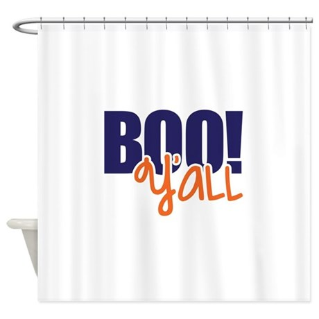 Boo Yu0027all Shower Curtain