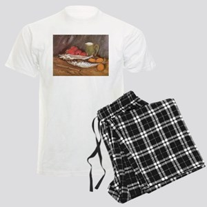 Still Life by Vincent van Gog Men's Light Pajamas