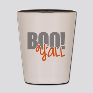 Boo Y'all Shot Glass