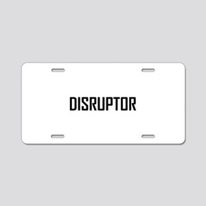 Disruptor Technology Business Aluminum License Pla