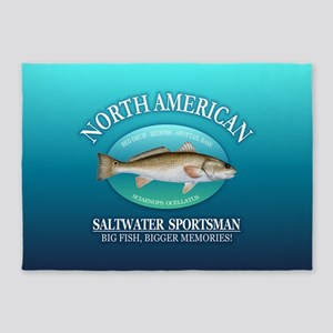 NASM (redfish) 5'x7'Area Rug
