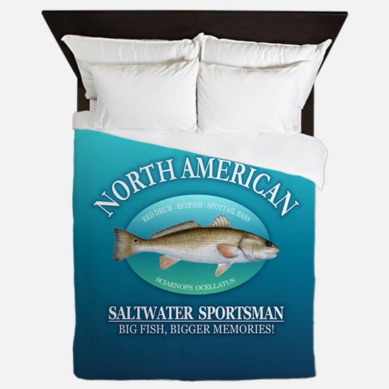 NASM (redfish) Queen Duvet