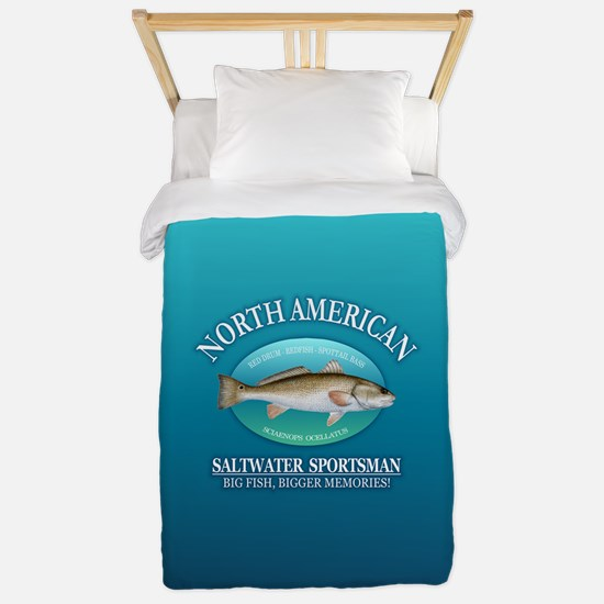 NASM (redfish) Twin Duvet