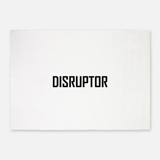 Disruptor Technology Business 5'x7'Area Rug