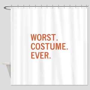 Worst. Costume. Ever. Shower Curtain