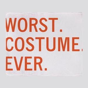 Worst. Costume. Ever. Throw Blanket