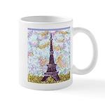 Eiffel Tower Pointillism by Kristie Mugs