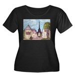 Paris Inspired Cityscape Big 051610 with Eiffel To
