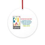 Seton 30th Anniversary Ornament (Round)