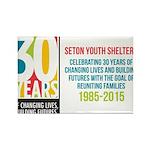 Seton 30th Anniversary Magnets
