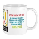 Seton 30th Anniversary Mugs