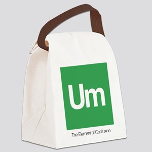 The Element of Confusion Canvas Lunch Bag
