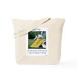 Agility Fun! Tote Bag