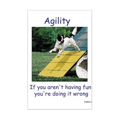 Agility Fun! Posters